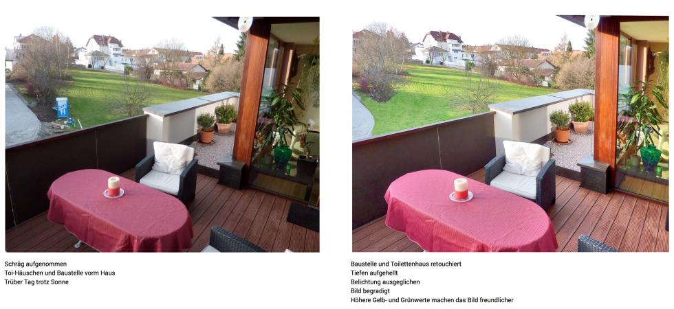 Professionelle Bildbearbeitung für Immobilienmakler 2